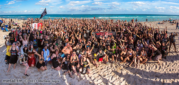 70000 Tons of Metal, 2017, Beachparty