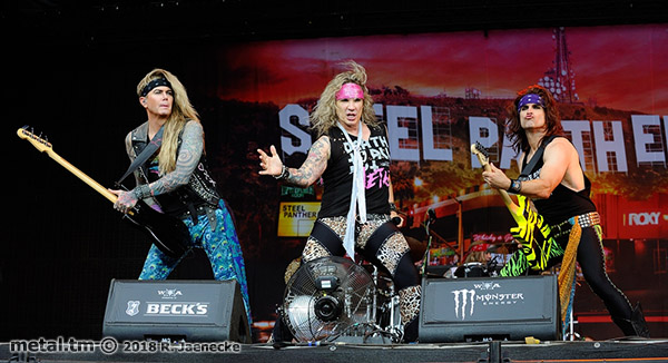 Wacken Open Air 2018, Steel Panther