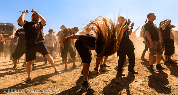 Summer Breeze Open Air 2018, Pro Pain, Moshpit