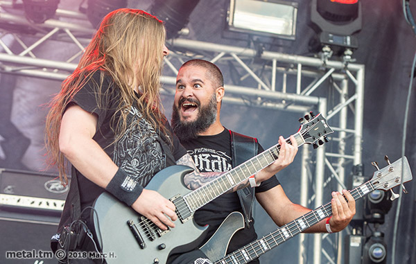 Party.San Open Air 2018, Benighted