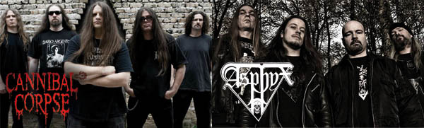 Cannibal Corpse / Asphyx