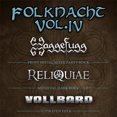 Cover von MTC, Köln der Band Folknacht Vol. IV