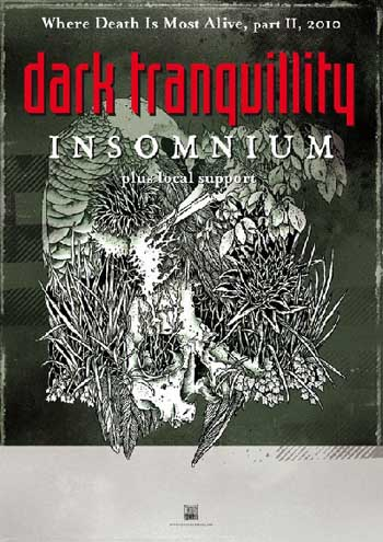 Dark Tranquillity - Where Death Is Most Alive Tour 2010