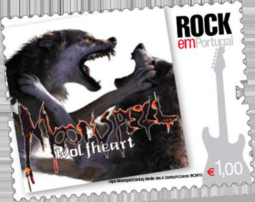 Moonspell Briefmarke