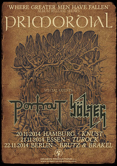Primordial - Album Release Shows 2014