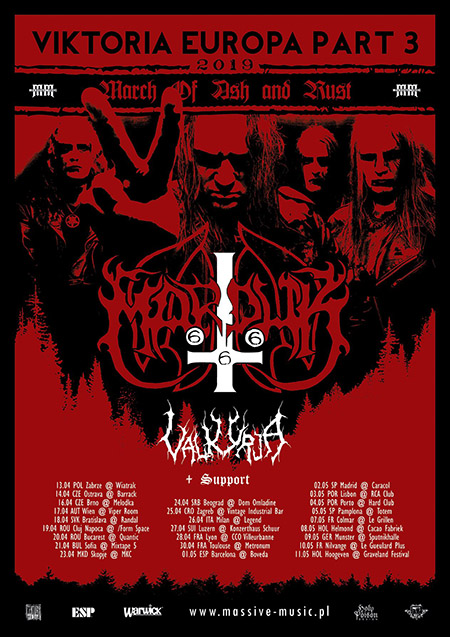 Marduk Valkyrja, Viktoria Europa Part 3, Tour 2019