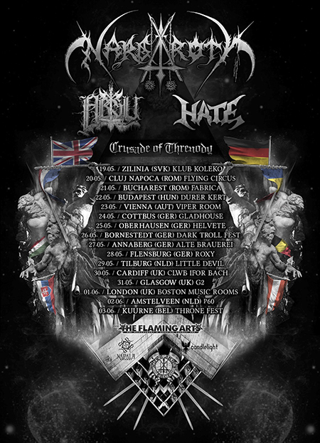 Crusade of Threnody Tour