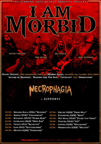 I Am Morbid Tour 2017