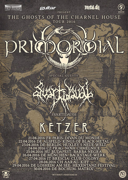 Primordial Tour - The Ghosts of the Charnel House