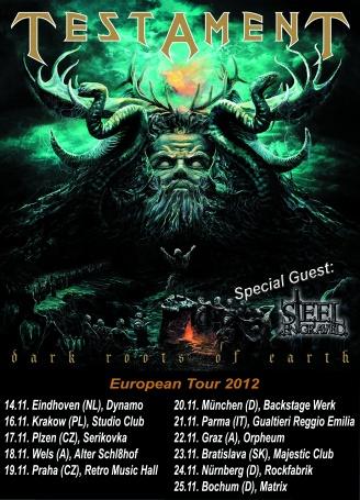 Testament Tour 2012