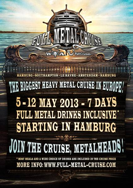 Full:Metal:Cruise Flyer 2013