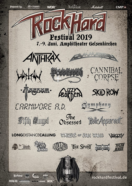 Rock Hard Open Air 2019 Flyer