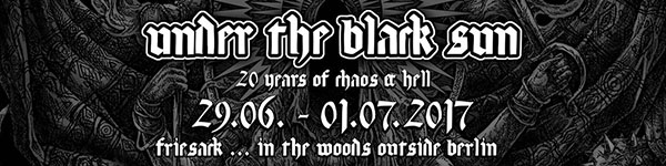 Under The Black Sun 2017 Header
